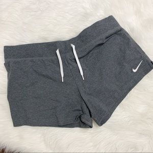 Nike | Gray shorts with drawstring